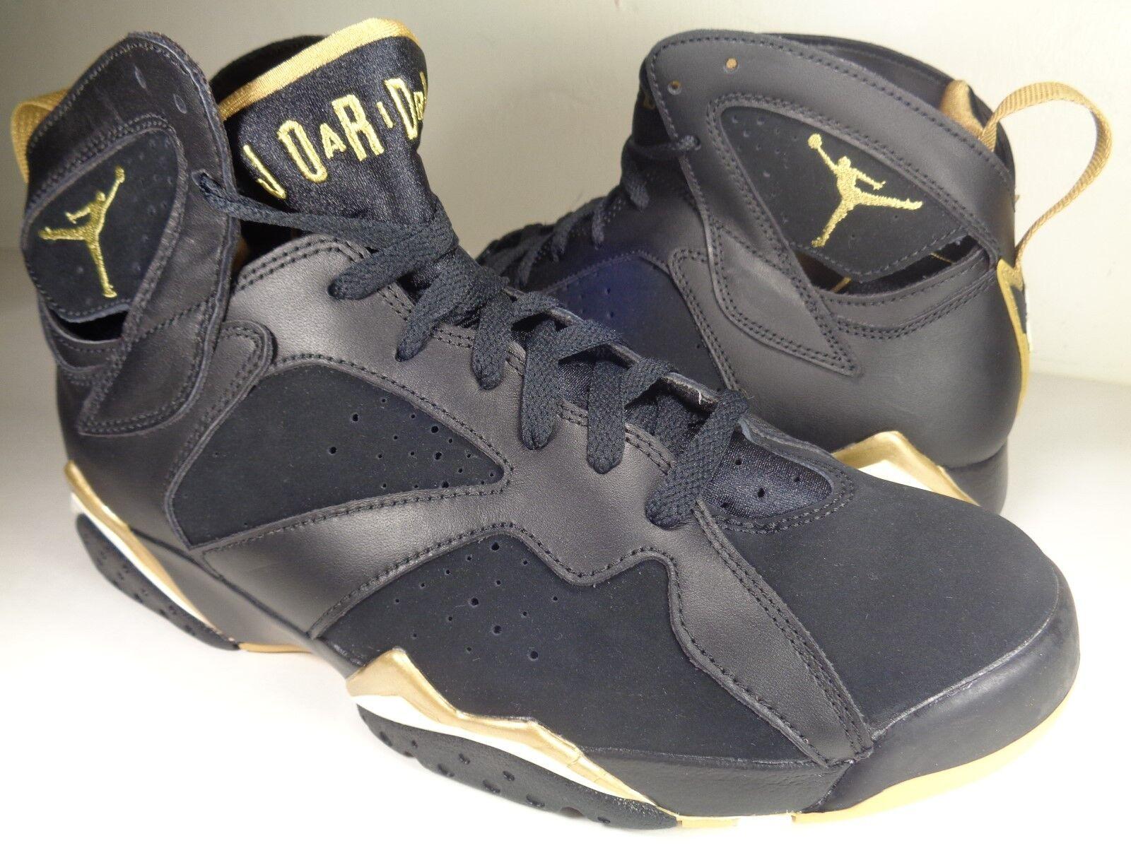 Nike Air Jordan Jordan Jordan VII 7 Retro GMP oroen Moment Pack nero SZ 9.5 (304775-030) f971d4