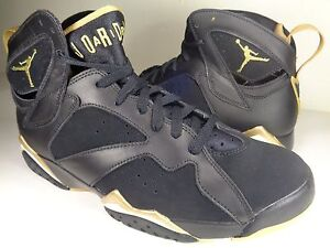 7abdf6c8b49d Nike Air Jordan VII 7 Retro GMP Golden Moment Pack Black SZ 9.5 ...