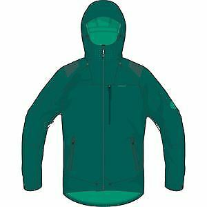 Madison DTE men's 3Layer waterproof storm jacket, oak green small green
