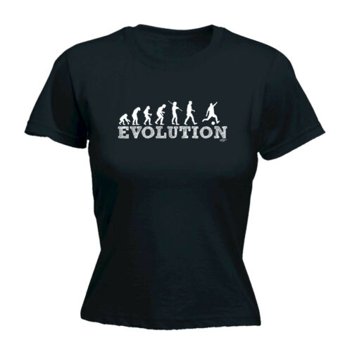 Funny Novelty Tops T-Shirt Womens tee TShirt Evo Football