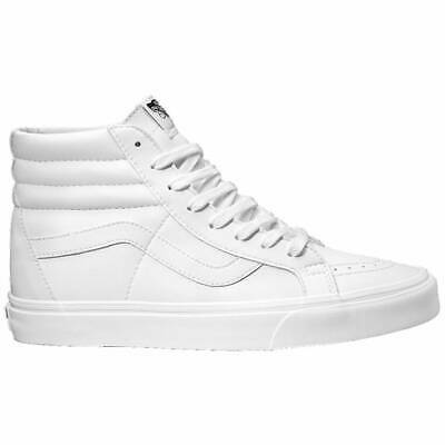 Vans Sk8 Hi White/White | Leather Men's A2XSBODJ | eBay