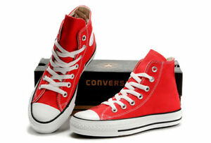 competitive price 45886 35f21 Image is loading Converse-M9621-All-Star-Hi-Chuck-Taylor-Red-