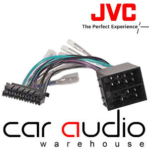 jvc 13 pin iso head unit replacement car stereo wiring harness image is loading jvc 13 pin iso head unit replacement car