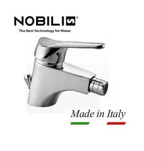 Dettagli su RUBINETTO MISCELATORE MONOCOMANDO PER BIDET BAGNO NOBILI SERIE ITALIA CROMATO