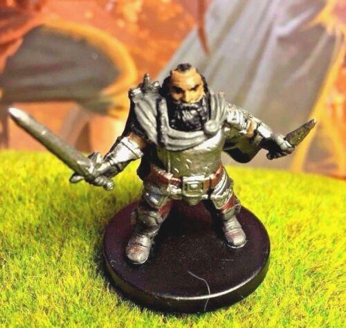 Larethar Gulgrin D/&D Miniature Dungeons Dragons rogue dwarf ranger fighter 6 Z