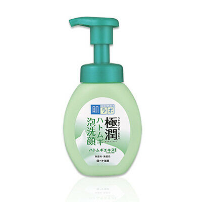 Rohto Hadalabo Gokujyun Foaming Face Wash Coix lacryma-jobi Job's Tears Japan
