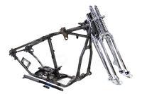 Replica Harley Davidson 1954 Fl Panhead Wishbone Frame Kit Springer Chrome