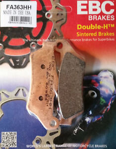 BMW-R1200GS-2005-to-2013-EBC-Double-HH-Sintered-REAR-Brake-Pads-FA363HH