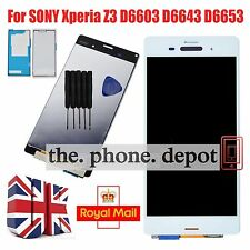 White LCD Display & Touch Screen Digitizer For SONY Xperia Z3 D6603 D6643 D6653