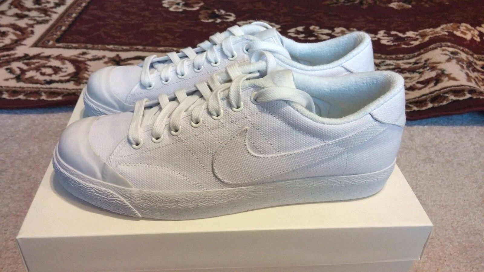 Nike X A.P.C. All Court Low Men's Sz 8.5 Collaboration APC DS KITH Rare Kanye The most popular shoes for men and women