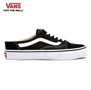 Vans-Old-Skool-X-Mule-Black-2019-Fashion-Sneakers-Shoes-Men-039-s-FLVN9S1U62