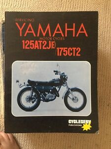 yamaha at2 ct2 service manual 125 175 at1 ct1 ebay rh m ebay com au yamaha at1 owners manual 1971 Yamaha 125 AT1 M