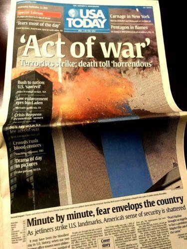 U Pick SF Quake 911 Nuke Challenger Saddam Son of Sam World Events Newspaper
