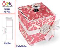 Sizzix Scoreboards Xl Die - 658058 Square Box By Eileen Hull