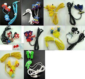 NEW-Cartoon-Anime-in-ear-3-5mm-Headset-Earphone-Headphone-Earbuds-Children-Gift