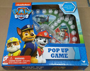 New Nickelodeon Paw Patrol Pop Up Game Fun for ages 4+