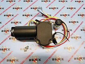 1935-1936 Buick Oldsmobile Pontiac Electric Wiper Motor Kit12V w// Hardware