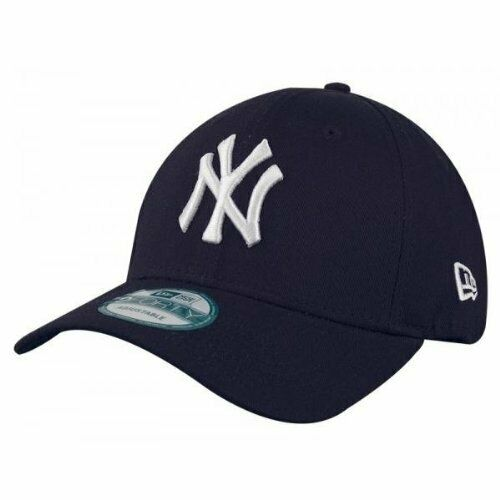 8637490518d Era Mens MLB Basic NY Yankees 9forty Adjustable Baseball Cap Blue Navy One  for sale online