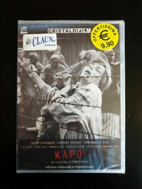 Kapò (1960) un film di Gillo Pontecorvo DVD Nuovo