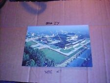 Aerial Provincial Shaanxi History Museum Tourist Line Entrance Vacation flag van
