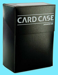 Delicieux Image Is Loading ULTIMATE GUARD JAPANESE SIZED SMALL BLACK DECK CASE