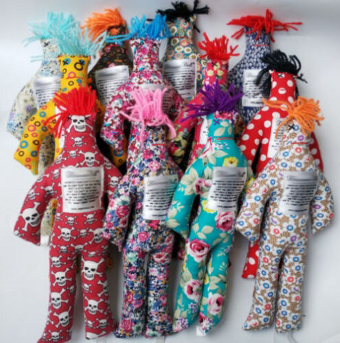 """1//5//10PC Random Pattern Color Stress Relief 12/"""" Dammit Doll Plush toy Kids Gift"""