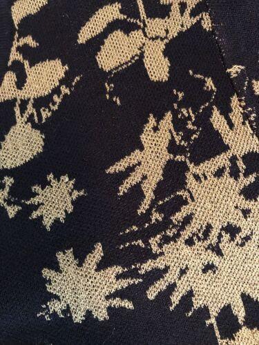 Ann Taylor Woman/'s Navy Blue Shimmer Floral 3//4 Sleeve Ann Cardigan $80 NWT U38