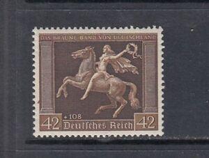 Deutsches-Reich-Mi-Nr-671y-postfrisch-waagerechte-Gummiriffelung