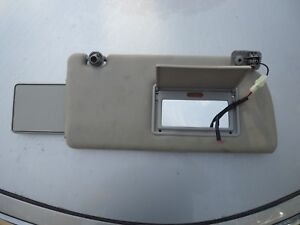Passenger Side Sun Visor With Lighted Vanity Mirror And Visor Extender Obh010 Ebay