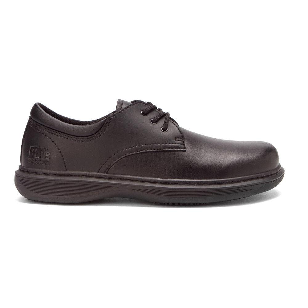 DR MARTENS ETON LADIES BLACK Schuhe WORK NON SAFETY SIZE 3 EU 36