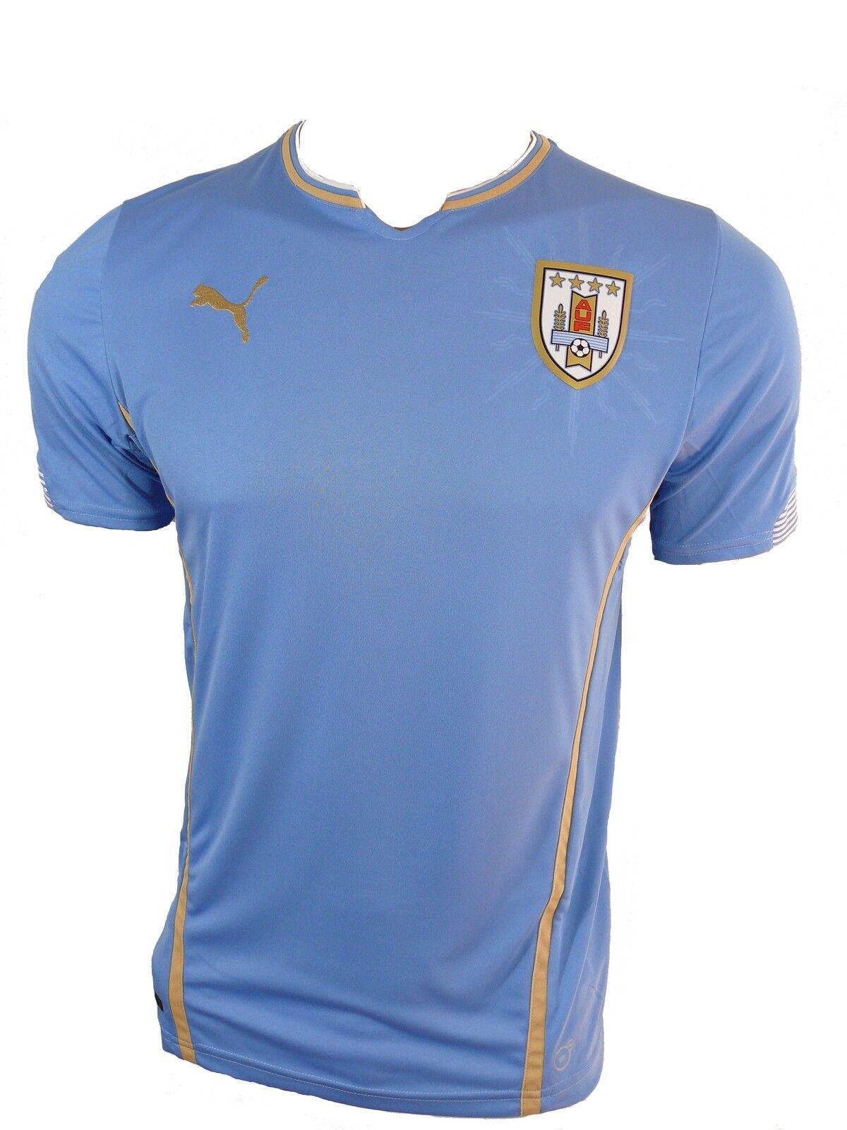 PUMA Herren Uruguay Uruguay Uruguay Trikot Jersey Gr. L 5a31c9