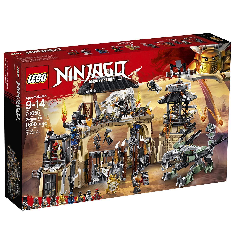 NEW Sealed  LEGO NINJAGO Masters of Spinjitzu  Dragon Pit 70655