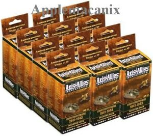 NEW-Axis-amp-Allies-Miniatures-Counter-Offensive-1941-1943-12-PACK-BOOSTER-CASE