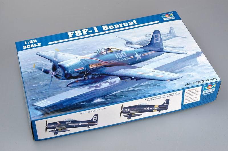 Trumpeter 1 32 02247 F8F-1 Bearcat