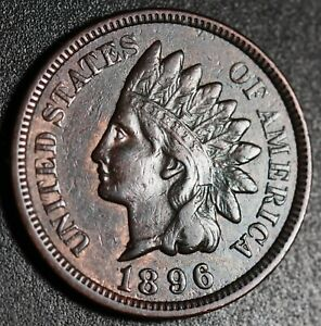 1896-INDIAN-HEAD-CENT-With-LIBERTY-amp-DIAMONDS-XF-EF