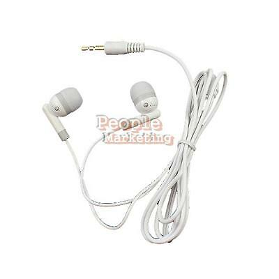 Earbud Earphone For MP3 MP4 PDA PSP Players 3.5mm W P1