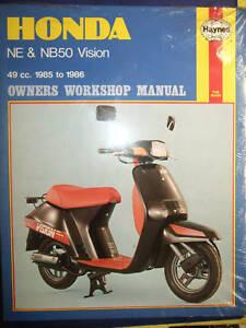 HAYNES-MANUAL-HONDA-NE-amp-NB50-VISION