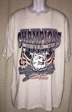 2004 UConn Huskies NCAA national champs T-shirt men's and women's basketball XL