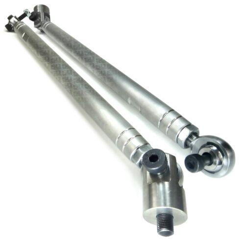 Heavy Duty Tie Rod End Kit CNC Billet Aluminum fits 2011-2014 Polaris RZR XP 900