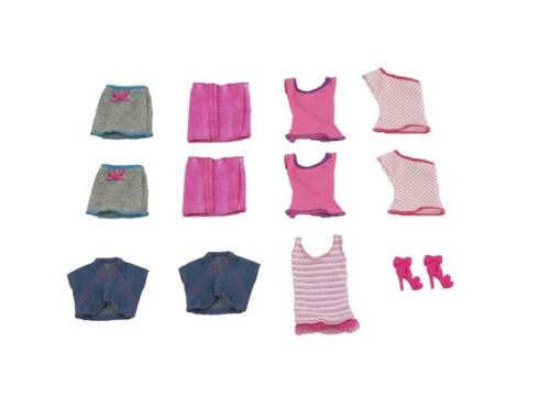 Shoes NEW~ MATTEL Barbie Iron On Clothing Replacement Lot ~ Shirts Skirts
