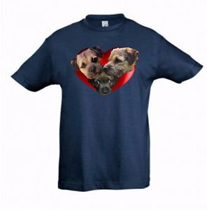Border-Terriers-in-Heart-Kids-Dog-Themed-Tshirt-Childrens-Tee-Shirt-Xmas-Gift