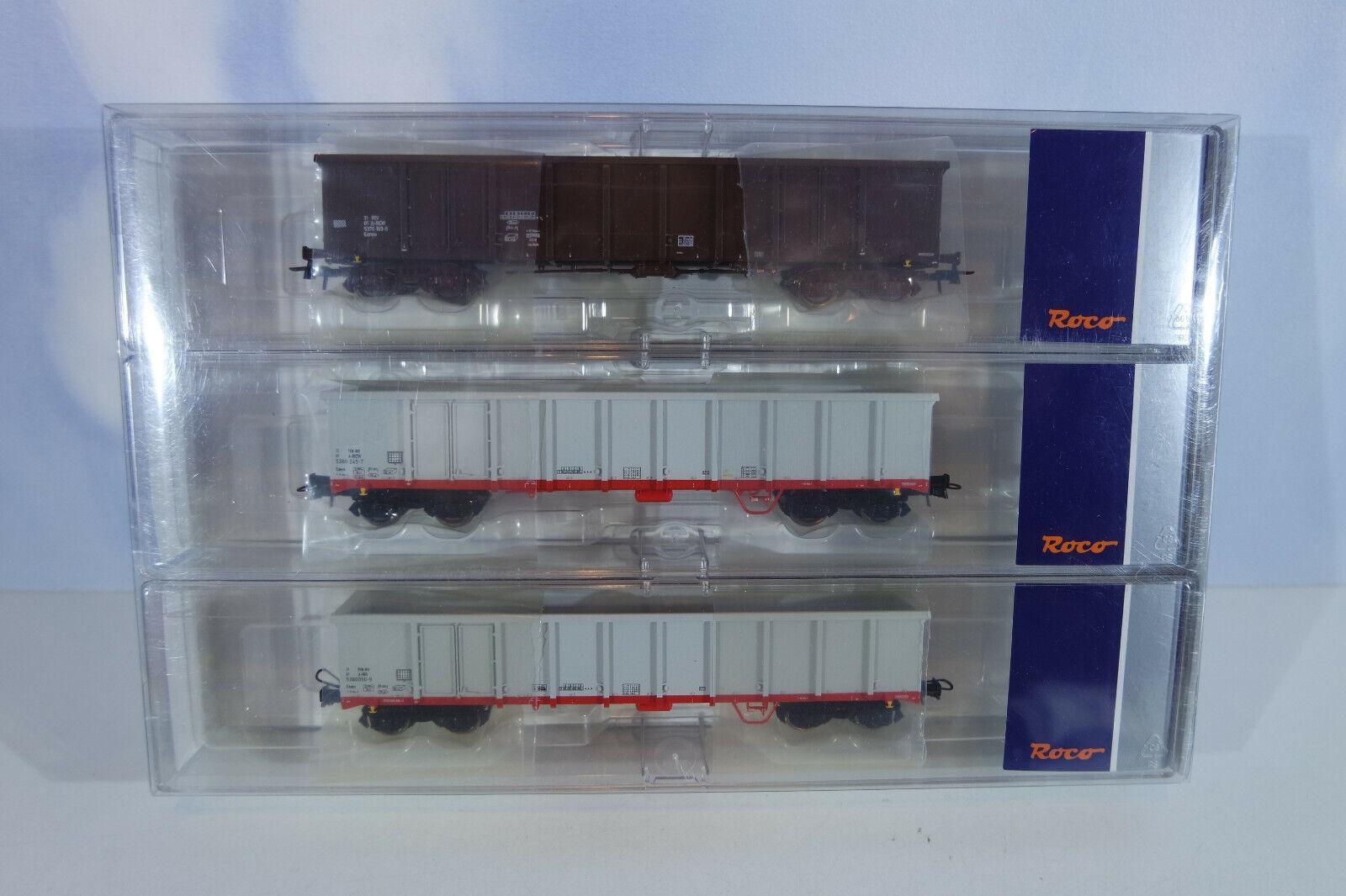 ROCO 67153 Wagenset, staccato, mattoncini, merce nuova in scatola originale