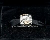 Authentic Pandora Two Tone Silver & 14k Gold Golden Star Charm 790563