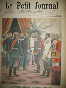 Col-MARCHAND-GRAND-DUC-WLADIMIR-A-SAINT-PETERSBOURG-RUSSIE-LE-PETIT-JOURNAL-1902