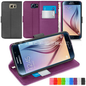 Samsung-Galaxy-Leather-Wallet-Stand-Flip-Book-Case-Cover-Pouch-S7-S7-Edge-S6-S5