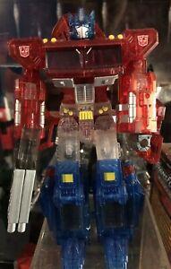 Takara Transformers Henkei Crystal Convoy Version claire Optimus Prime
