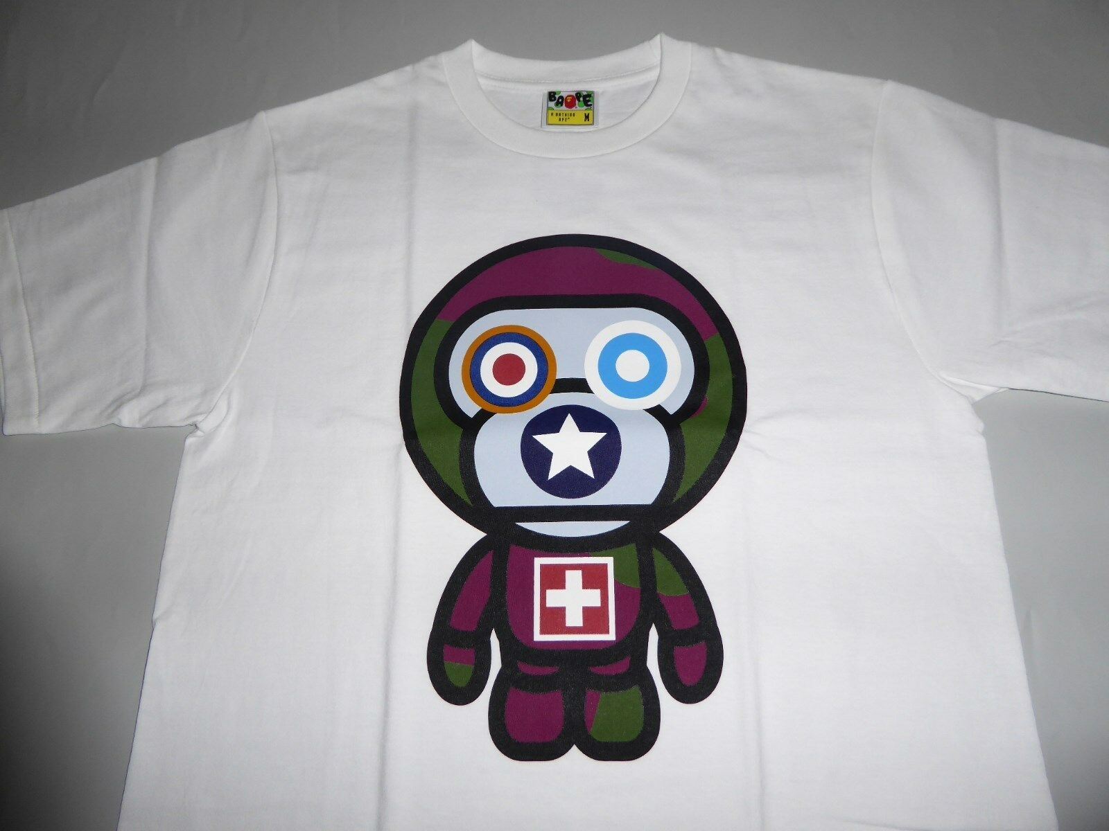 18843 bape 10artists baby milo by skatething tee L