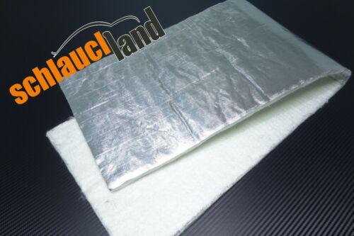 Hitzeschutzmatte 10mm Alu-Keramik 0,5m x 0,5m ***Turbo Auspuff Krümmer Tunnel