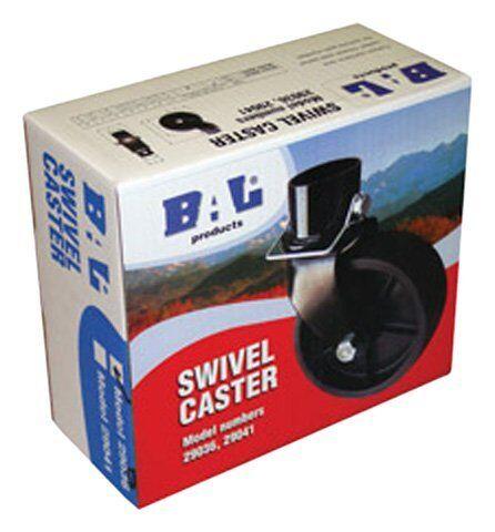 "BAL 29036B Premium 1000 lb Trailer Caster Wheel for 1 5//8/"" Tongue Jack Shaft"