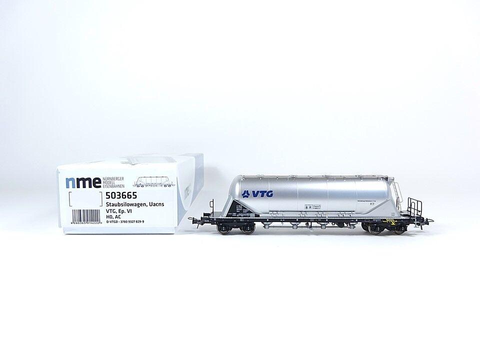 NME h0 503665 AC, polvere Silo autorello uacns 82m³ VTG, argentoo, Nuovo, Confezione Originale